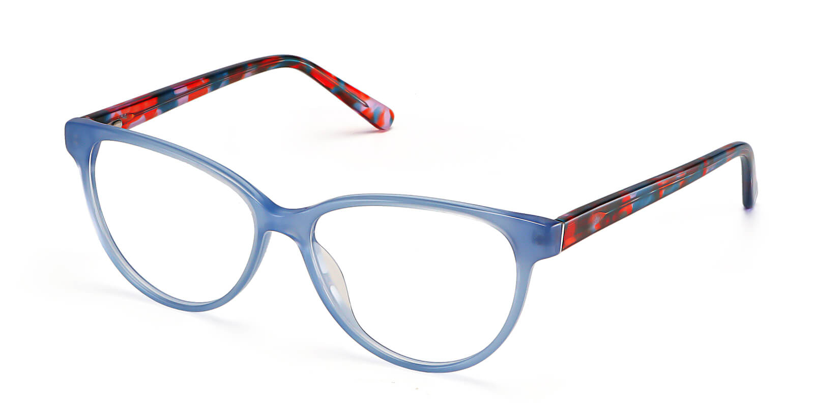 Lindsay-Cute cat eye glasses  for women  : bright multi-color opitons