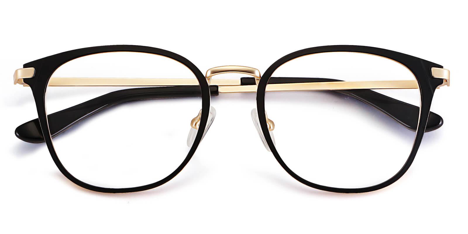 Mandy-Blue light blocking glasses - Overall cut steel