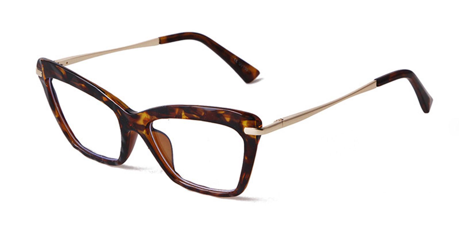 Iluminada-2021 new fashion retro cat eye glasses frame