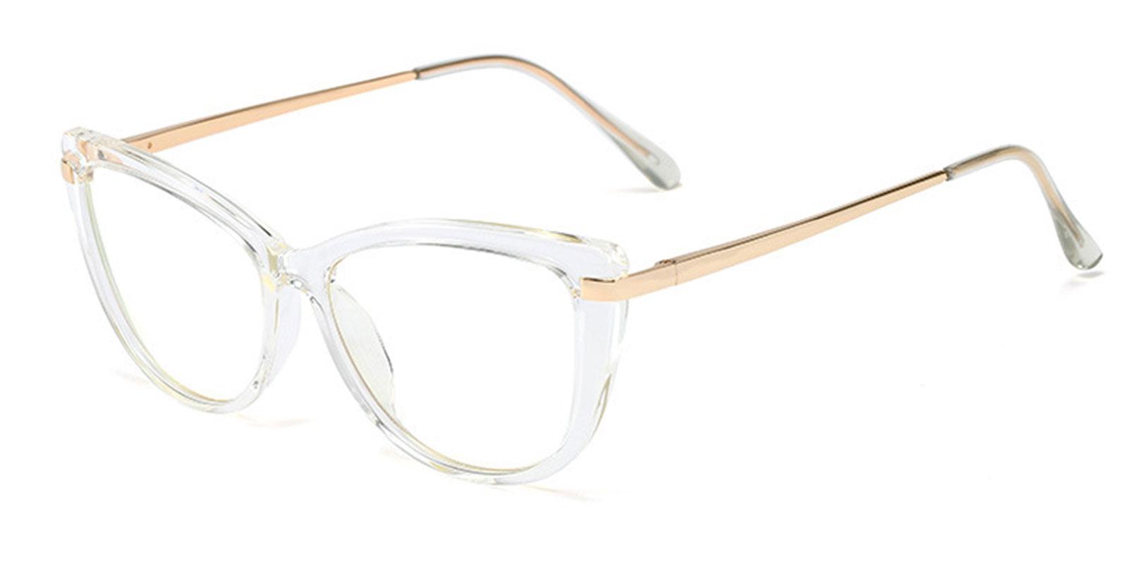 Nerys-Vogue Red Designer Big Cat Eye Glasses Frames for Women