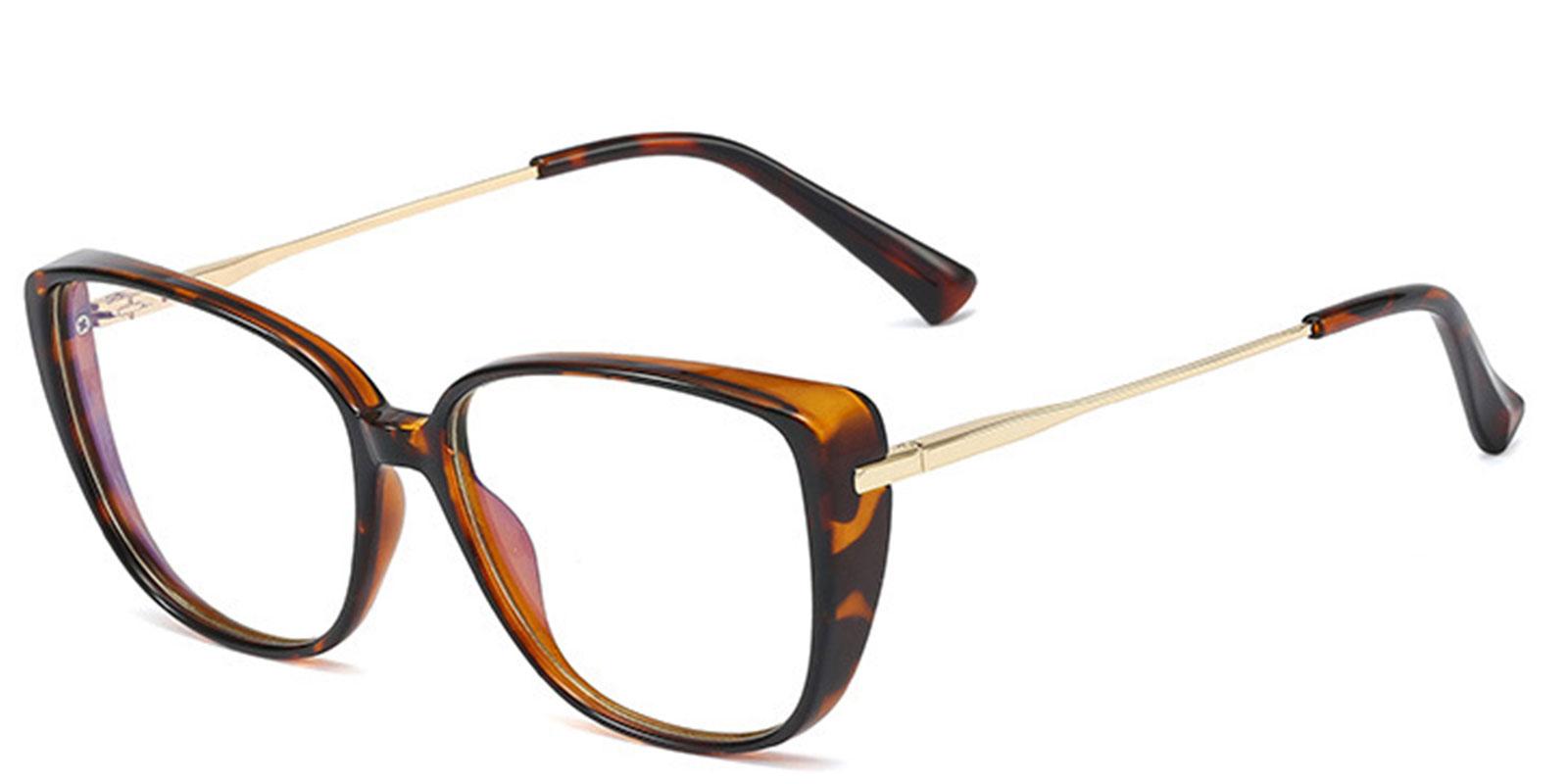 Dael-Trendy Transparent Tr90 Glasses with Anti Blue Light Lenses