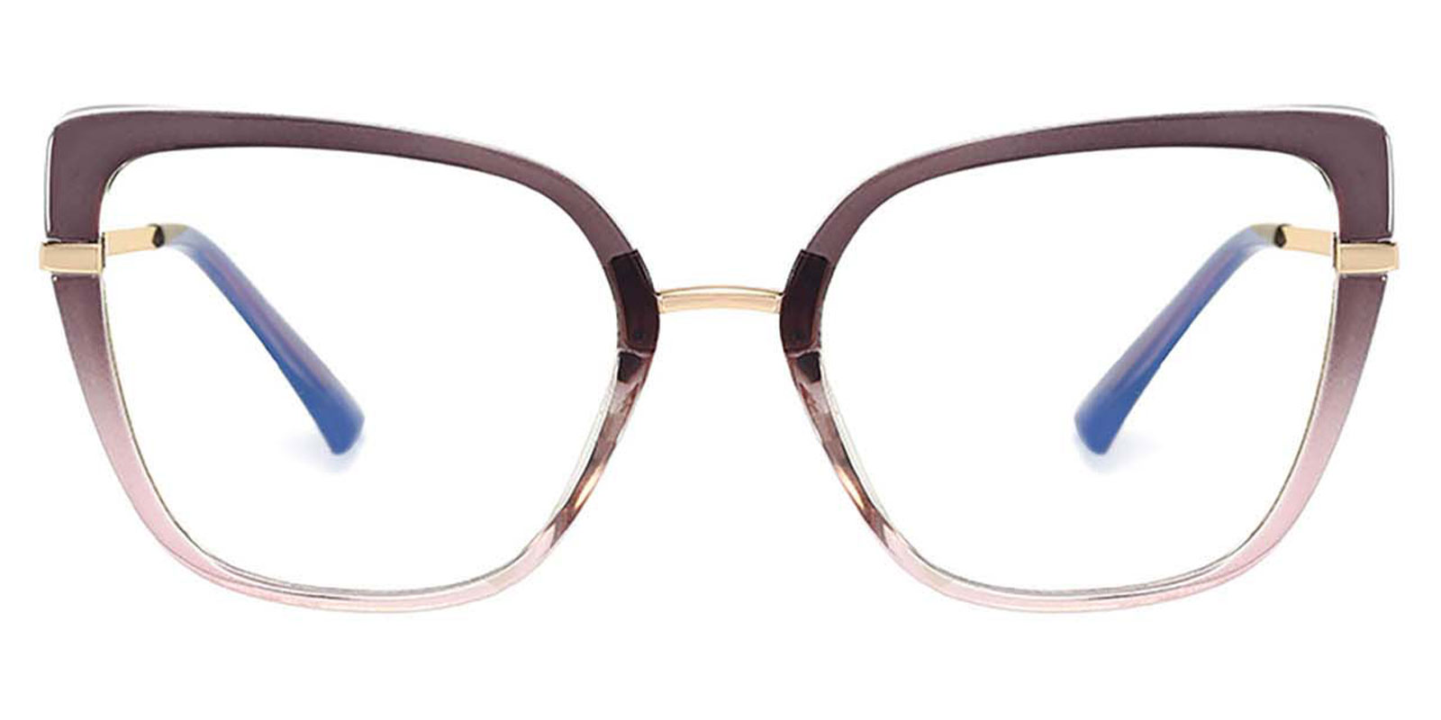 Leire-Elegant cat eye spring hinge glasses