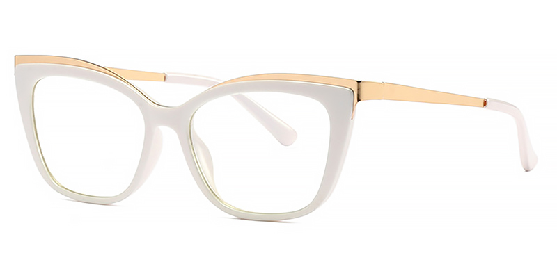Anatole-Red Trendy Cat Eye Glasses Styles for Women