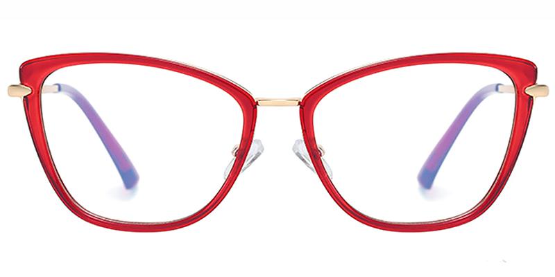 Algernon-New Full Rim Blue Blocker Cat Eye Glasses