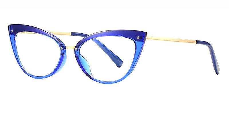 Caia-TR Full Frame Fashion Blu-ray Glasses | Cat Eye Glasses | Ladies Glasses