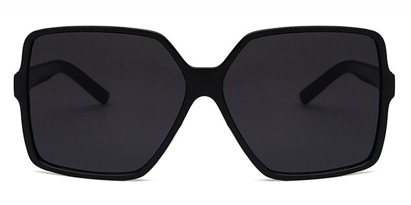 Io-Square oversized gradient ladies casual sunglasses TR90 material
