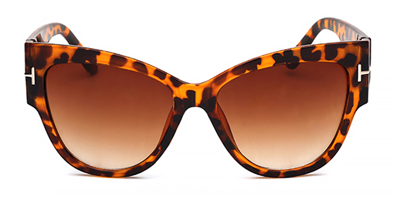 Lux-Women oversized cat eye sunglasses TR90 material
