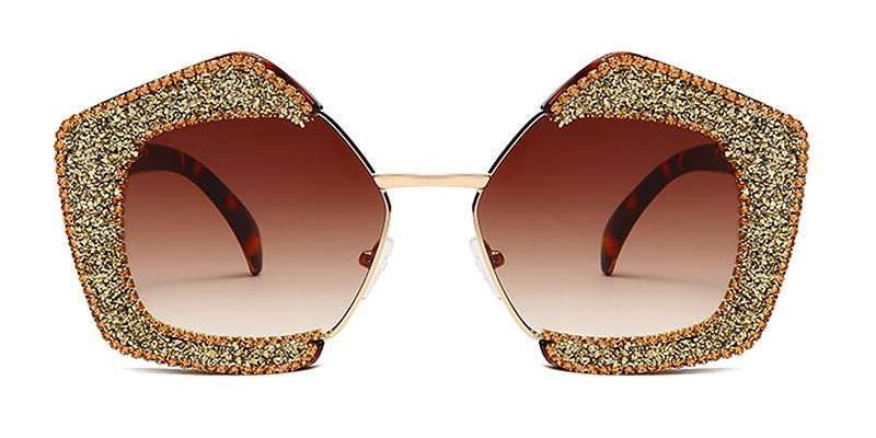 Riley-UV protection diamonds women sunglasses