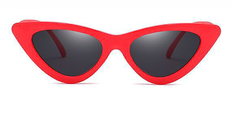 Chryseis-Classic retro cat eye sunglasses TR90 material