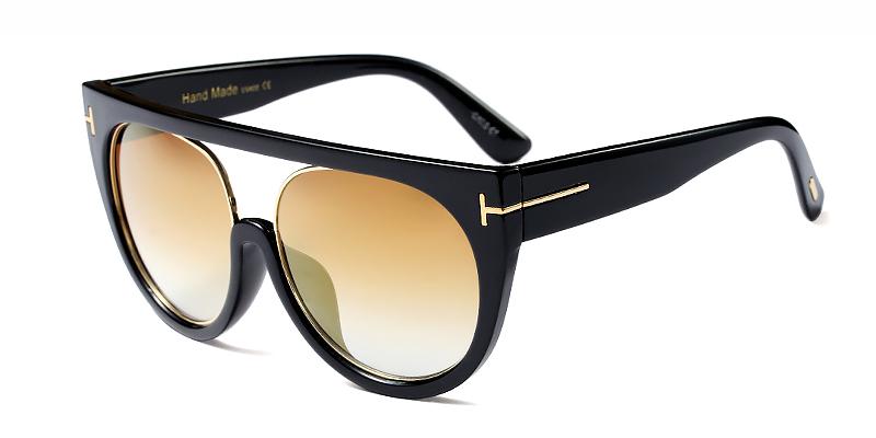 Zaria-Classic aviator sunglasses ladies cat eye sunglasses