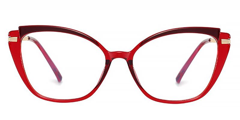 Nell-Retro ladies anti-blue light glasses TR90 material