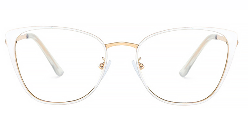 Lark-Fashionable cat-eye anti-blue light ladies glasses with comfortable material