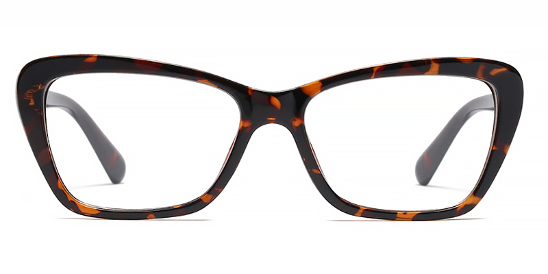 Etta-Casual flat glasses with high quality frames