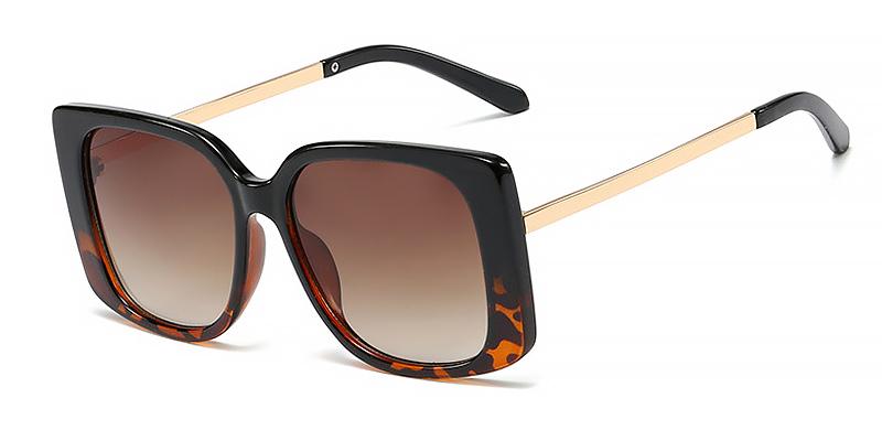 Mia-Classic women square oversized sunglasses