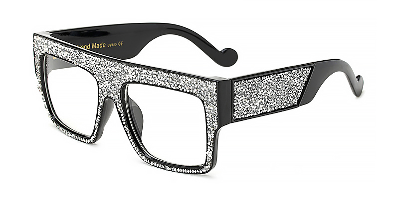 Kaia-Women oversized square sunglasses TR90 material