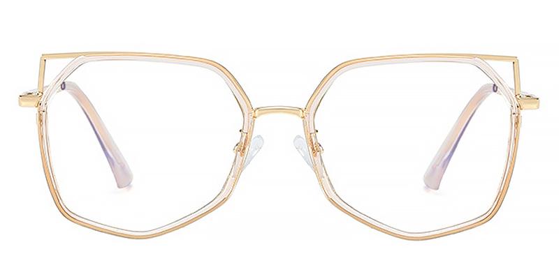 Nydia-Stylish full-rimmed anti blue light glasses for women
