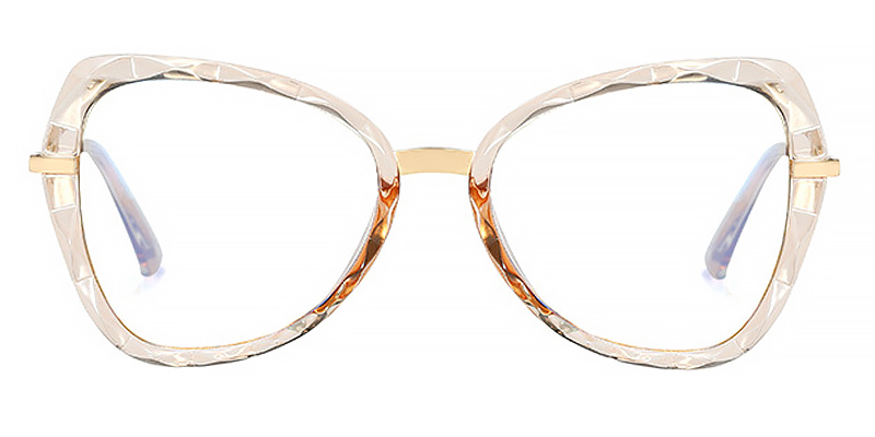 Rasa-Versatile and retro style blue light glasses for women