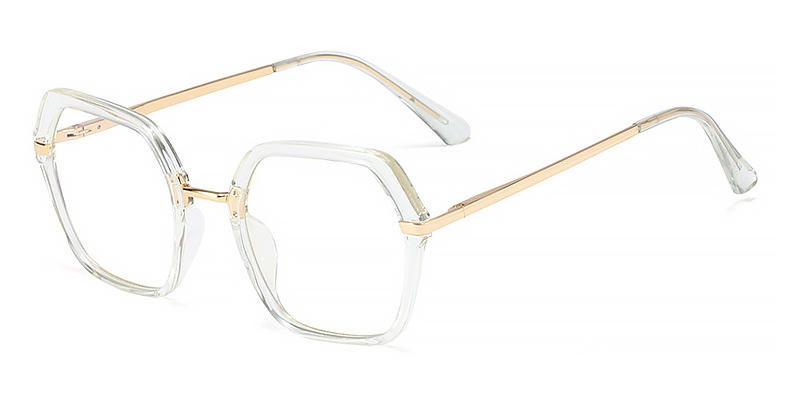 Tikvah-Stylish blue light glasses with metal frame