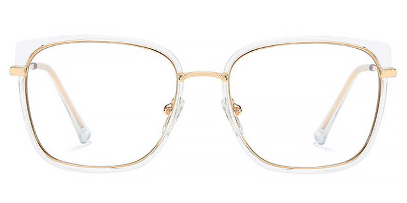 Zuri-Full-rimmed oversized blue light glasses for women
