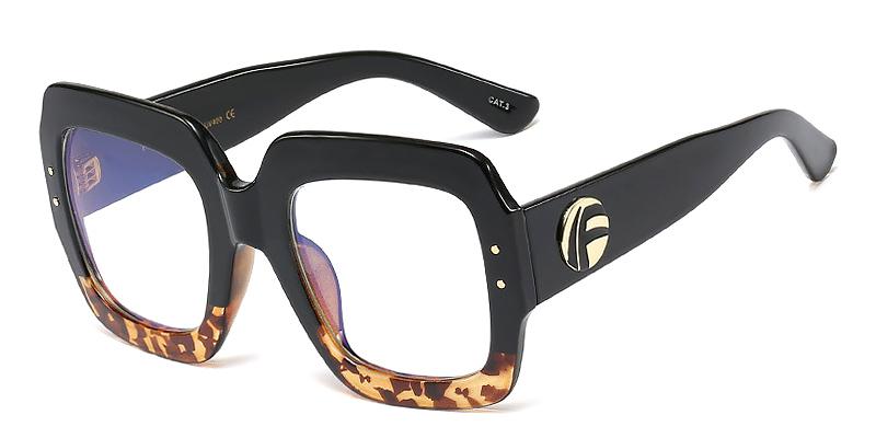 Mnemosyne-Stylish oversized blue light glasses for men and women