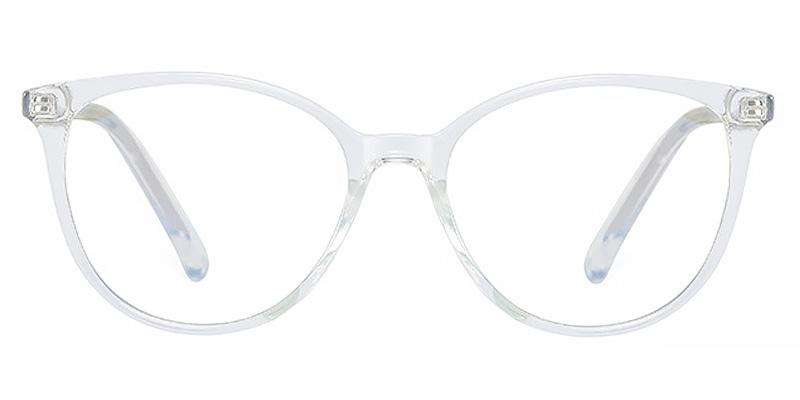 Wilhelmina-Full-rimmed cat-eye blue light glasses TR90