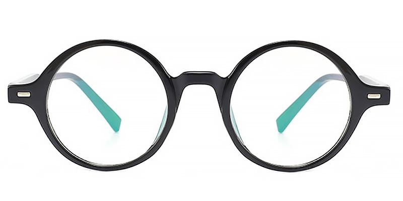 Luca-Retro style round glasses anti blue light for men and women