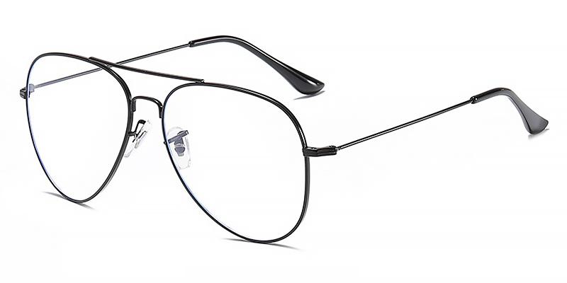 Maverick-Full-rimmed aviator glasses anti blue light for women and men