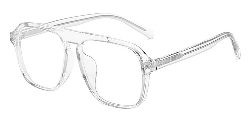 Jade-Stylish full-rimmed square blue light glasses TR90