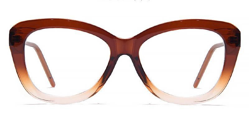 Indigo-2021 full-rimmed cat-eye blue light glasses for women