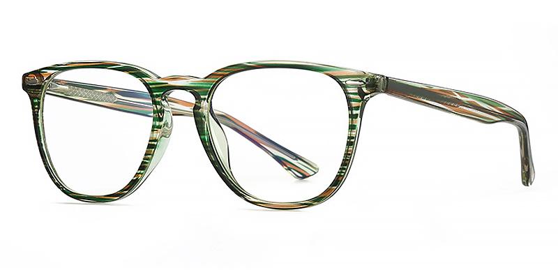Dylan-Full-rimmed blue light glasses with stripes design