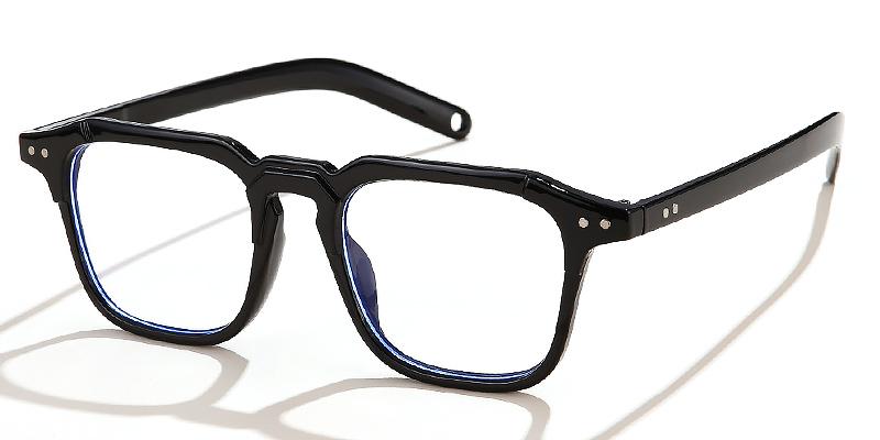 Ridge-Retro style square blue light glasses for women and men