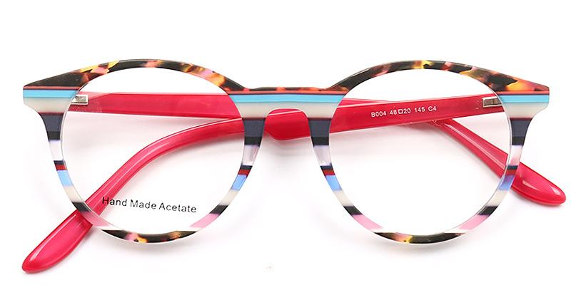 Virginia-Best selling cat-eye glasses stylish colorful frame