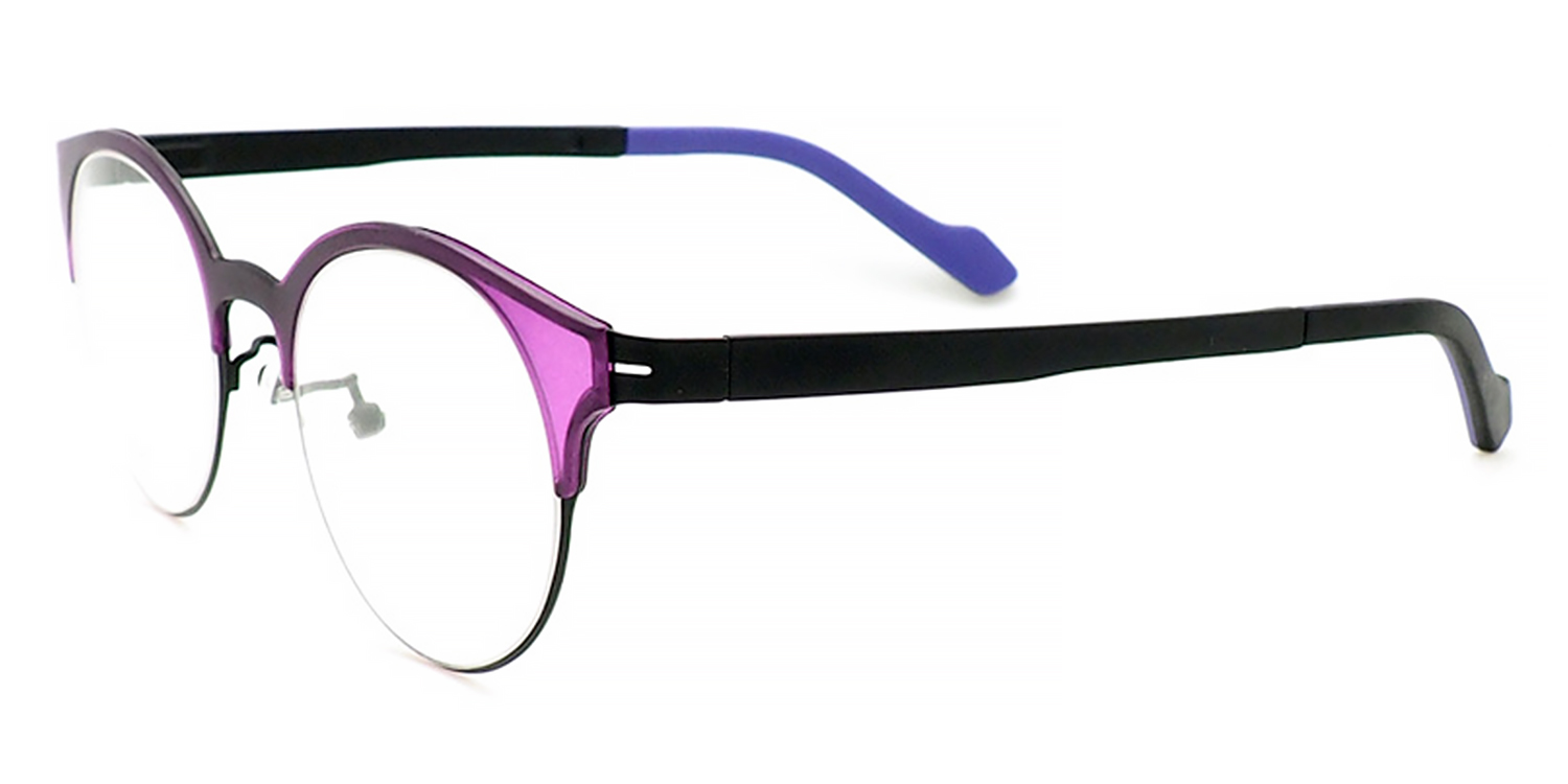 Cleona-Leisure glasses frame for both men and women, flat mirrored lens, oval glasses, can be equipped with blue light glasses