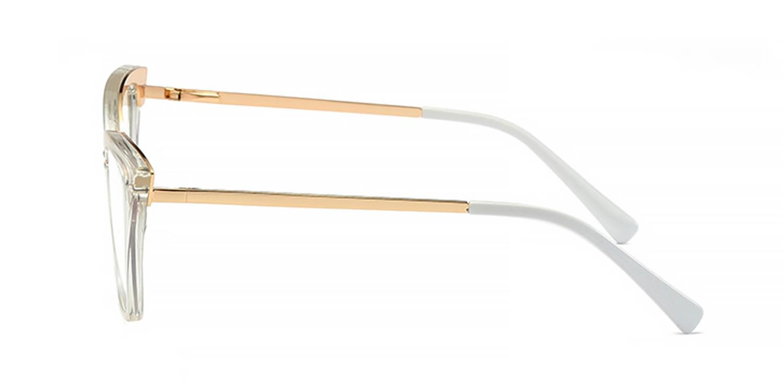 Gentry-Anti-Blue Light Clear Color Frame Cat's Eye Glasses for Women