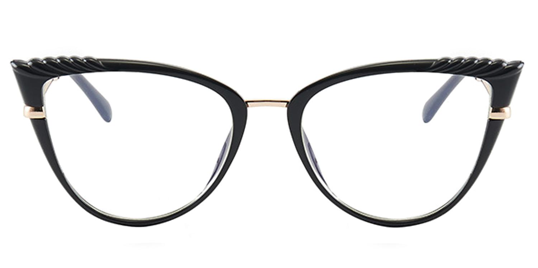 Dakota-7 Colors Fashion Trendy Spring Lens Cat's Eye Glasses for Women