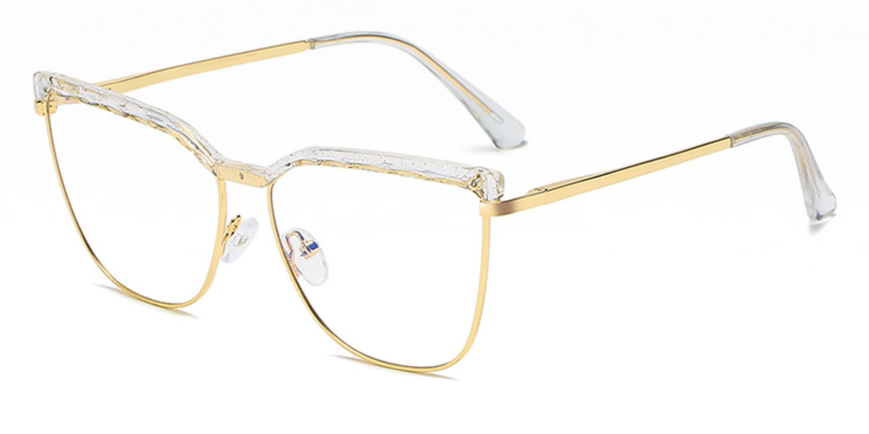 Zephyr-Newest TR90 Anti-Blue Light Cat's Eye Glasses for Women