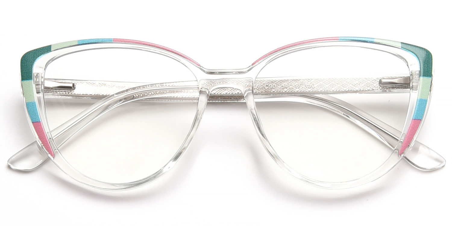 Eithne-6 Color TR90 Casual Oval Glasses for Women
