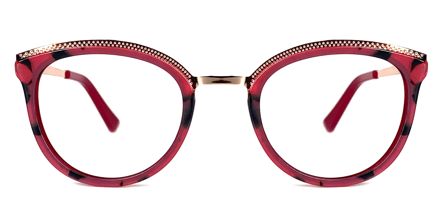 Mischa-3 Demi Colors Acetate Newest Design Style Oval Glasses for Women