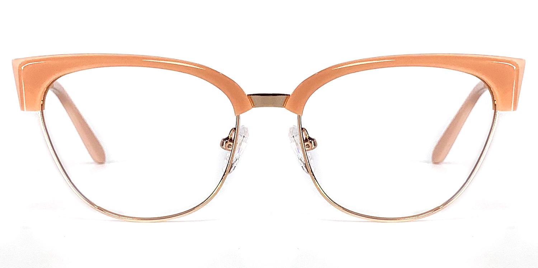 Kalindi-4 Colors Acetate Metal Oval Glasses for Women and Men