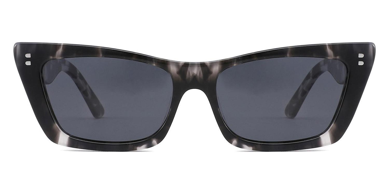 Meliora-4 Colors Acetate Retro Style Leopard Print     Cat's eye Glasses for Women and Men