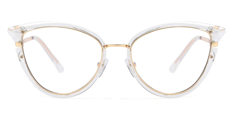 Paraskeve-6 Colors Design Style TR90 Metal Cat's Eye Glasses for Women