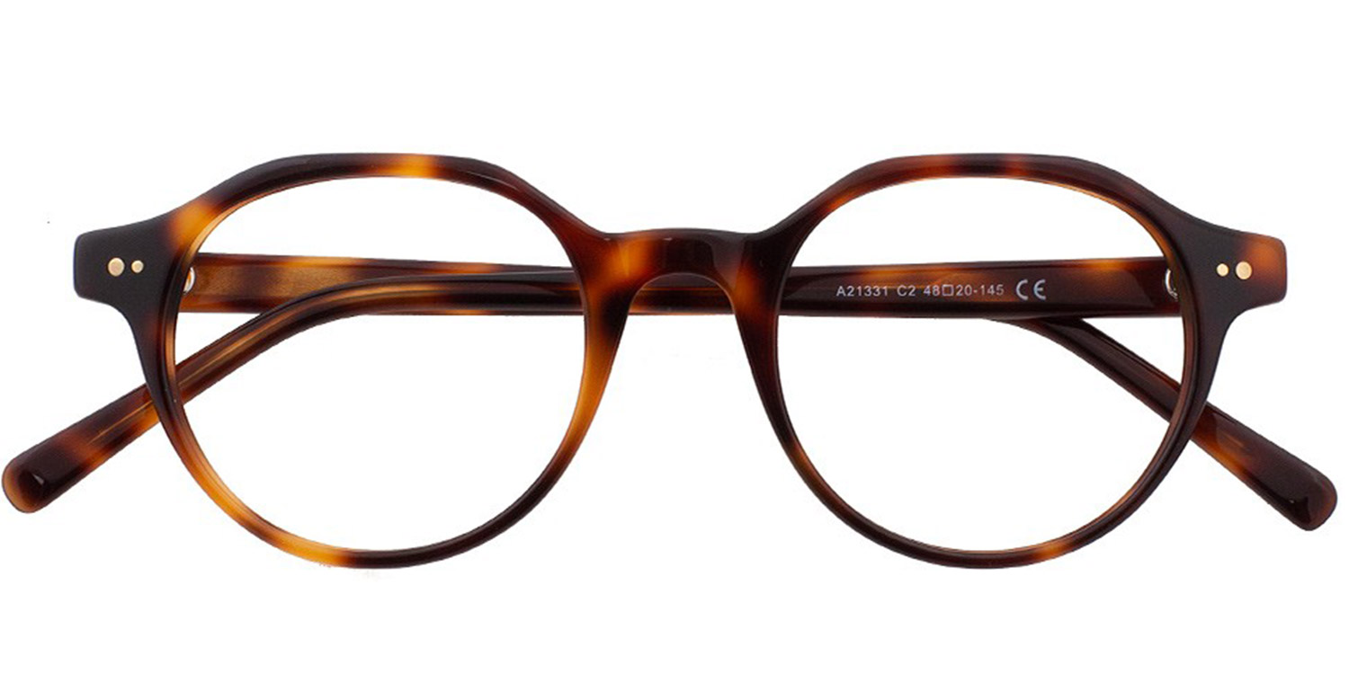 Amarantha-5 Colors Acetate Vintage Round Glasses for Women and Men