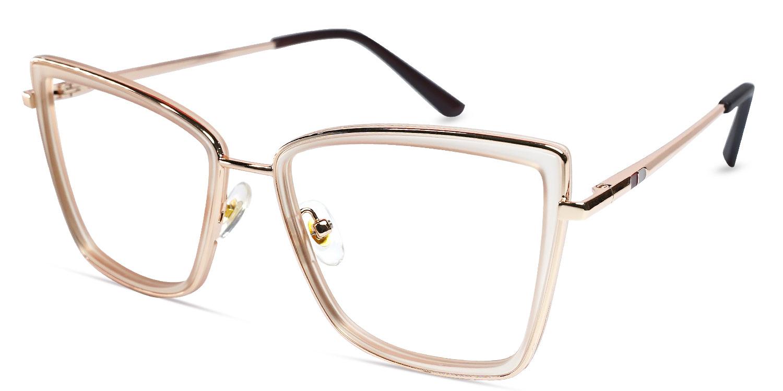 Anzu-Casual square glasses for women