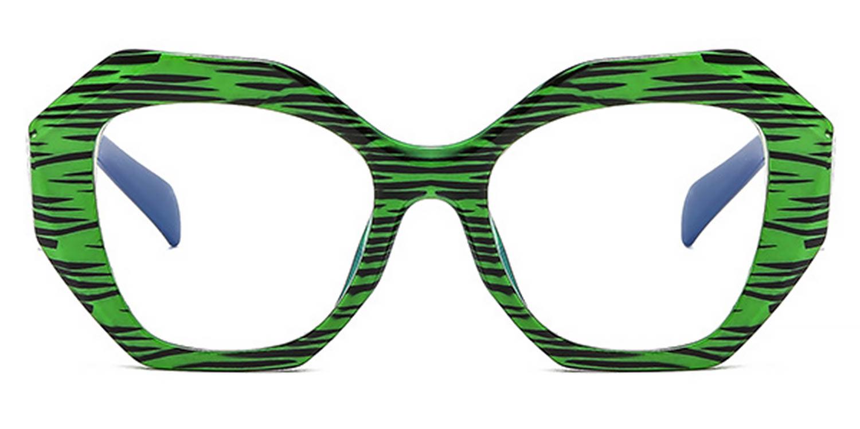 Rajani-Novel color scheme fashion Square glasses for women