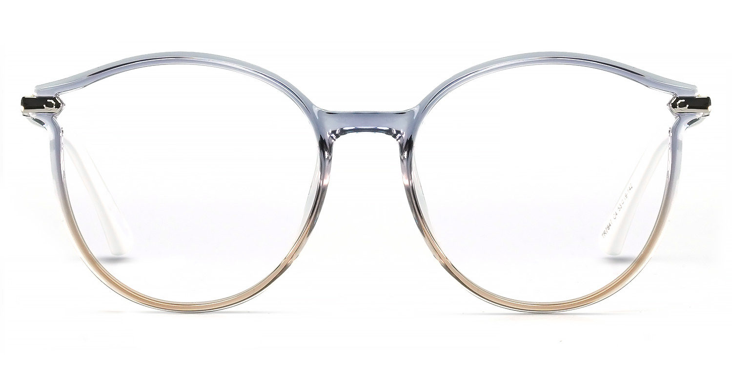 Ourania-Little fresh color Casual Round glasses for women