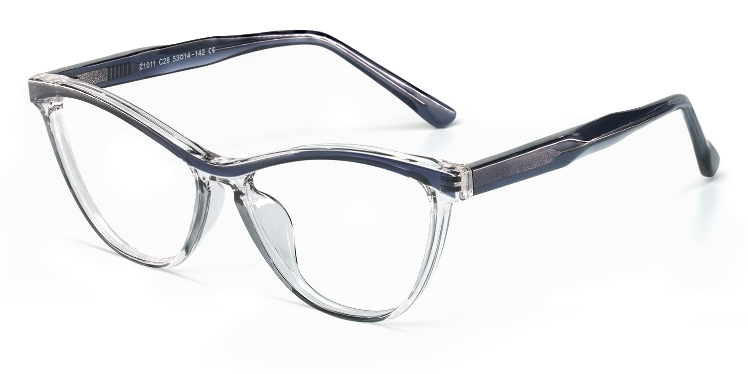 Vieira-Special color Casual Cat eye glasses for women