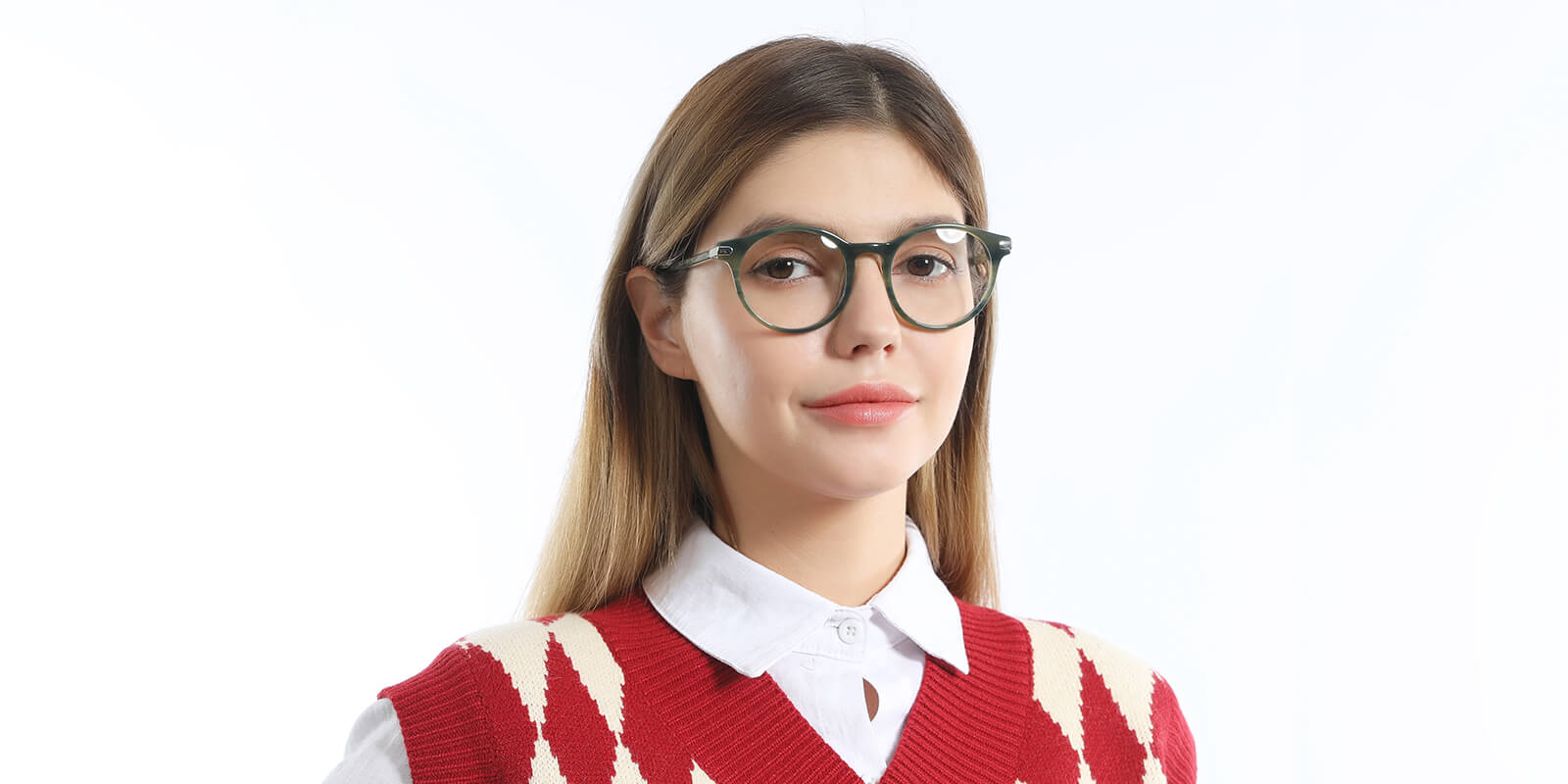 Hudson-Retro round glasses for womens with bright multi colors
