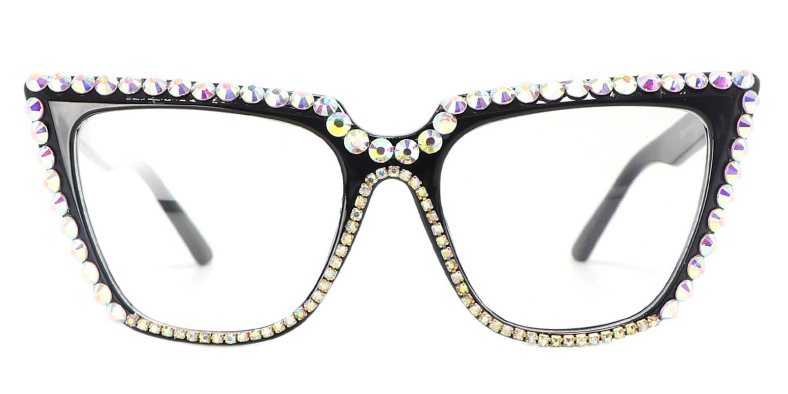 Zenobia-Classic Vogue Black Cat Eye Glasses