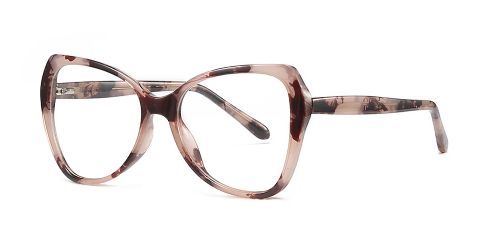Esme-Cute glasses for women with Polygonal spring hinge