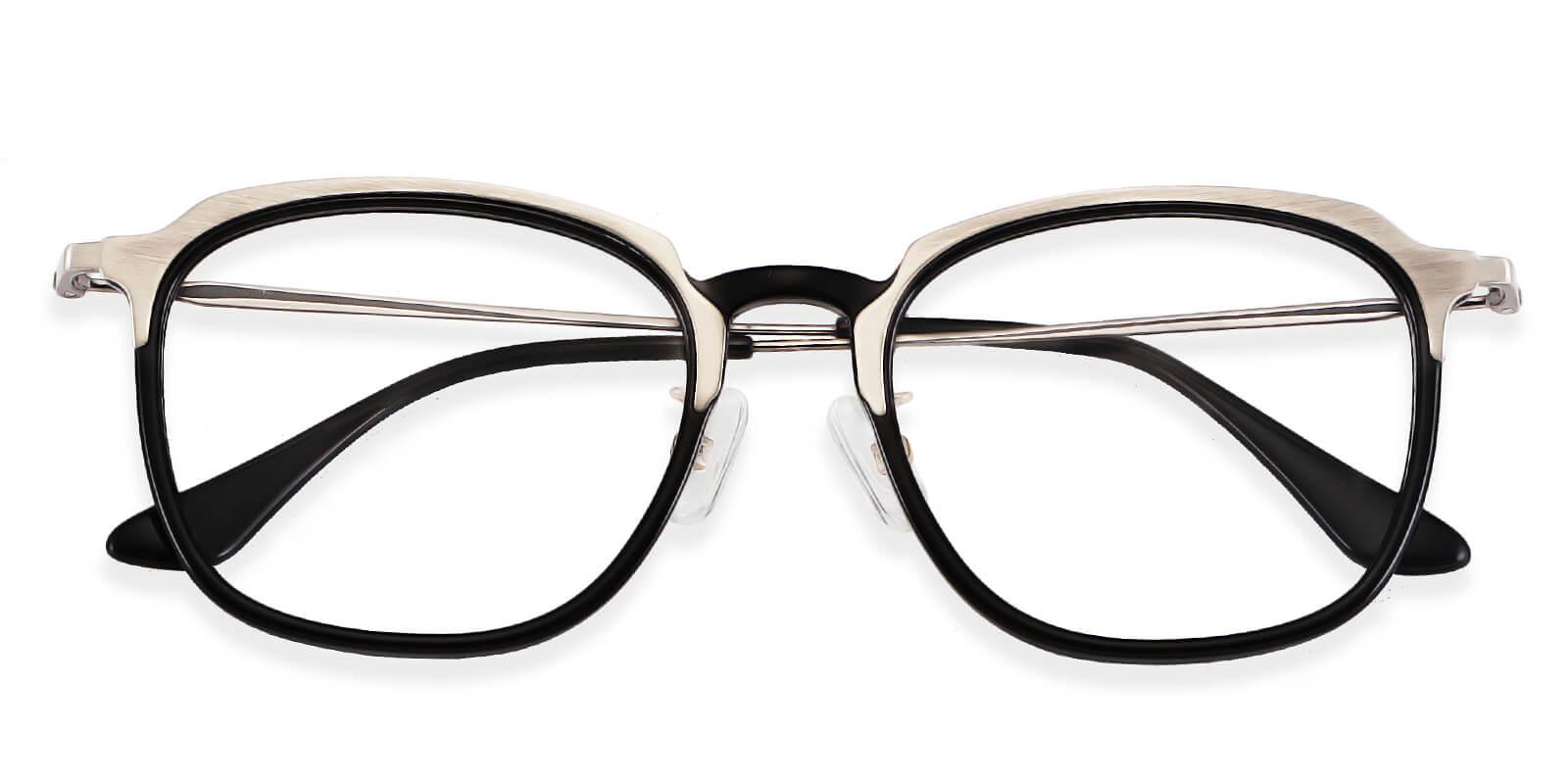 Aurora-Square acetate glasses : two tone layered glasses